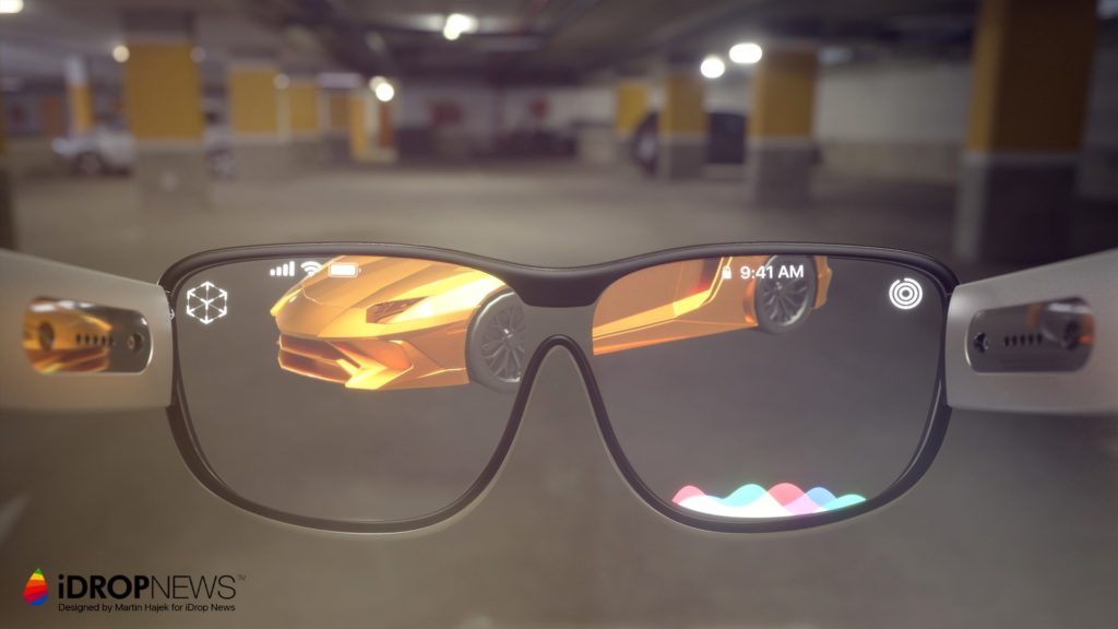 ilustrasi kacamata AR Apple